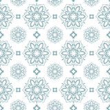 Summer theme seamless pattern. Abstract floral background, vector wallpaper, spring and summer theme for your design. Doodle style. Place the pattern on your Royalty Free Stock Photography