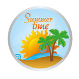 Summer time Royalty Free Stock Photo