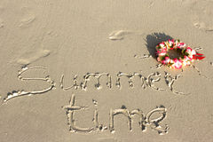 Summer time Royalty Free Stock Images