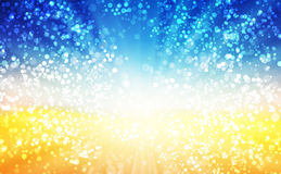Summer time background. Easy all editable Stock Images