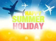 Summer Time Background Royalty Free Stock Photography