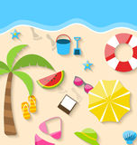 Summer Time Background Royalty Free Stock Images