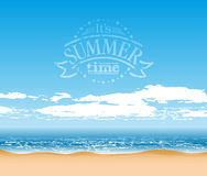 Summer time background Stock Images