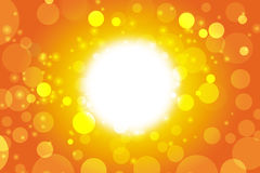 Summer time background. Sun lens flare Royalty Free Stock Photo