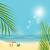 Summer Time background, sunrise or sunset concept Royalty Free Stock Image