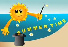 Summer time background Royalty Free Stock Image