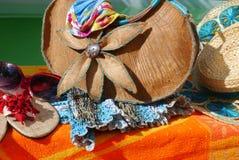 Summer time beach pool sun Holidays sunglasses Royalty Free Stock Photography