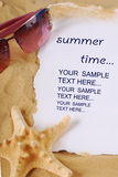 Summer time border Stock Images