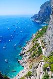 Summer time in Capri island stock photos