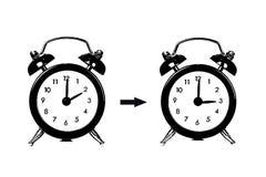 Summer Time change, Daylight Saving Time Stock Photos