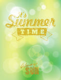 It' summer time Stock Image