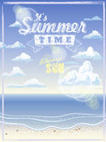 It' summer time Royalty Free Stock Image