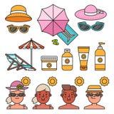 Summer time concept Stock Photos
