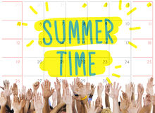 Summer Time Deal Promotion Purchase Shopping Concept.  Stock Images