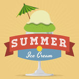 Summer time design. Stock Photo