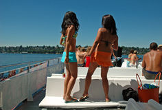 Summer Time Girls Stock Photos