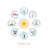 Summer time 01 Royalty Free Stock Image