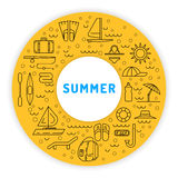 Summer time 01 Royalty Free Stock Images