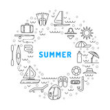 Summer time 01 Royalty Free Stock Photography