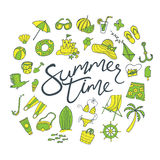 Summer time pattern Stock Photos