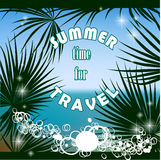 Summer time for travel Stock Image