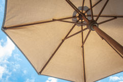 Summer time under the umbrella Royalty Free Stock Photos