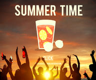 Summer Time Vacation Holiday Concept Stock Image
