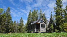 Summer Tiny House Stock Images