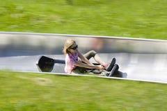 Summer toboggan run. Bavaria, Germany Stock Image