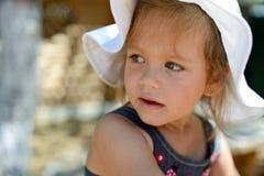 Summer toddler girl Royalty Free Stock Photos