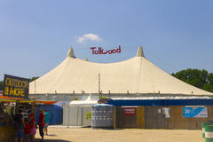 Summer Tollwood festival in Munich Stock Photography