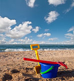 Summer toys Royalty Free Stock Image