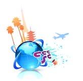 Summer travel background Stock Photo