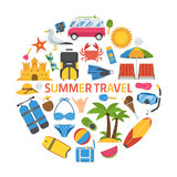 Summer Travel Concept Stock Photography