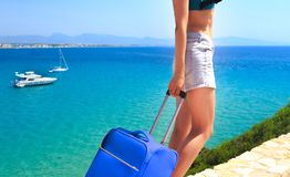 Summer travel concept royalty free stock images