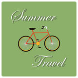 Summer Travel Design Stock Photography