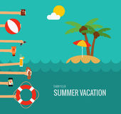 Summer travel Stock Photo
