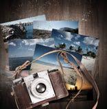 Summer travel photographs stock photos