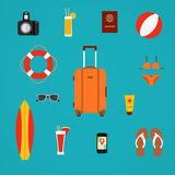 Summer travel Stock Photography