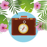 Summer, travel and vacation Royalty Free Stock Photo