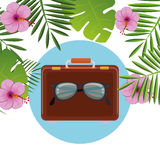 Summer, travel and vacation Stock Image