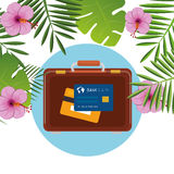 Summer, travel and vacation Royalty Free Stock Image