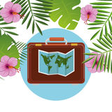 Summer, travel and vacation Stock Images
