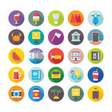 Summer and Travel Vector Icons 3 Stock Photography