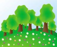 Summer Tree Royalty Free Stock Photography