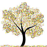 Summer Tree. An abstract illustration of a tree Stock Images