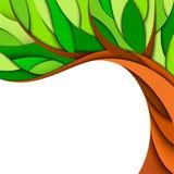 Summer tree background Stock Photo