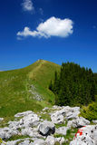 Summer trekking in mountains Royalty Free Stock Images