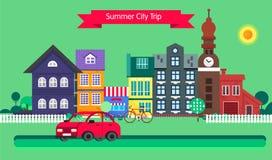 Summer trip vector Stock Photo