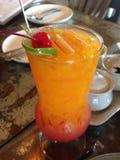 Tropical juice stock image